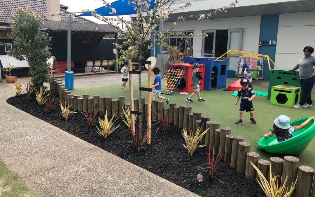 Auckland Childcare & Daycare Centres putting thought into kids safe gardens